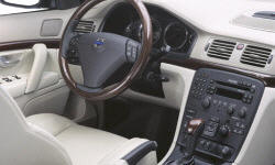 Volvo Models at TrueDelta: 2006 Volvo S80 interior