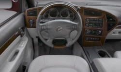 SUV Models at TrueDelta: 2007 Buick Rendezvous interior