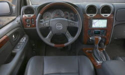GMC Models at TrueDelta: 2009 GMC Envoy interior