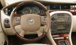 Wagon Models at TrueDelta: 2008 Jaguar X-Type interior
