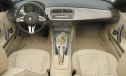 Convertible Models at TrueDelta: 2008 BMW Z4 interior