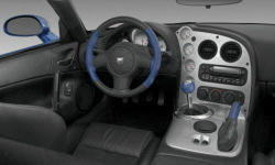 Convertible Models at TrueDelta: 2006 Dodge Viper interior
