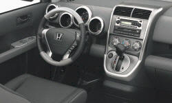 Honda Models at TrueDelta: 2008 Honda Element interior