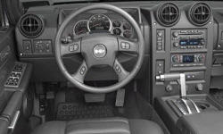 SUV Models at TrueDelta: 2007 Hummer H2 interior