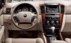 SUV Models at TrueDelta: 2006 Kia Sorento interior