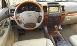 SUV Models at TrueDelta: 2009 Lexus GX interior