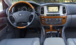 SUV Models at TrueDelta: 2007 Lexus LX interior