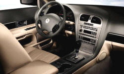Lincoln Models at TrueDelta: 2006 Lincoln LS interior