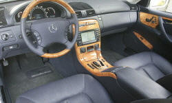 Coupe Models at TrueDelta: 2006 Mercedes-Benz CL-Class interior