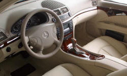 Wagon Models at TrueDelta: 2006 Mercedes-Benz E-Class interior