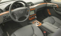 Mercedes-Benz Models at TrueDelta: 2006 Mercedes-Benz S-Class interior
