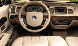 Mercury Models at TrueDelta: 2011 Mercury Grand Marquis interior
