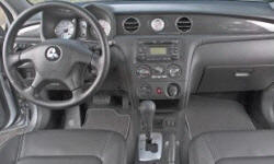 SUV Models at TrueDelta: 2006 Mitsubishi Outlander interior