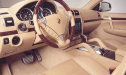 SUV Models at TrueDelta: 2006 Porsche Cayenne interior