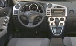 Toyota Models at TrueDelta: 2008 Toyota Matrix interior
