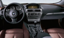 Coupe Models at TrueDelta: 2010 BMW 6-Series interior