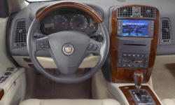 SUV Models at TrueDelta: 2006 Cadillac SRX interior
