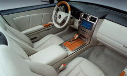 Convertible Models at TrueDelta: 2008 Cadillac XLR interior