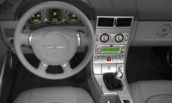 Convertible Models at TrueDelta: 2008 Chrysler Crossfire interior