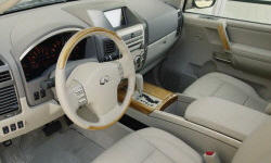 SUV Models at TrueDelta: 2007 Infiniti QX interior