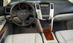 SUV Models at TrueDelta: 2007 Lexus RX interior