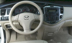 Mazda Models at TrueDelta: 2006 Mazda MPV interior