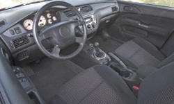 Mitsubishi Models at TrueDelta: 2006 Mitsubishi Lancer / Evolution interior