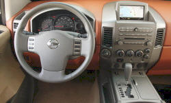 SUV Models at TrueDelta: 2007 Nissan Armada interior