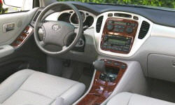 SUV Models at TrueDelta: 2007 Toyota Highlander interior