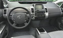 Hatch Models at TrueDelta: 2009 Toyota Prius interior