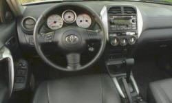 2005 Toyota RAV4 MPG 2005 Toyota RAV4 MPG