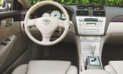 Coupe Models at TrueDelta: 2006 Toyota Solara interior