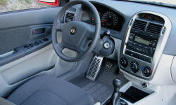Hatch Models at TrueDelta: 2006 Kia Spectra interior