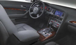 Wagon Models at TrueDelta: 2008 Audi A6 / S6 interior