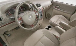 Buick Models at TrueDelta: 2007 Buick Terraza interior