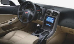 Convertible Models at TrueDelta: 2007 Chevrolet Corvette interior