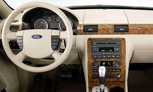 Ford Models at TrueDelta: 2007 Ford Five Hundred interior