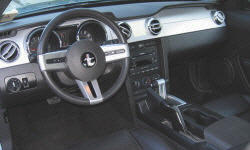 Convertible Models at TrueDelta: 2009 Ford Mustang interior