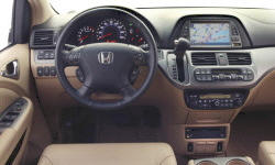 Honda Models at TrueDelta: 2010 Honda Odyssey interior