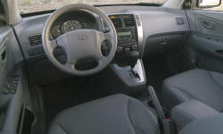 SUV Models at TrueDelta: 2008 Hyundai Tucson interior