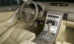 Coupe Models at TrueDelta: 2006 Infiniti G interior