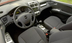 SUV Models at TrueDelta: 2010 Kia Sportage interior