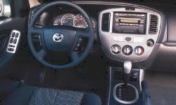 Mazda Models at TrueDelta: 2006 Mazda Tribute interior