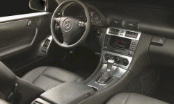Mercedes-Benz Models at TrueDelta: 2007 Mercedes-Benz C-Class interior