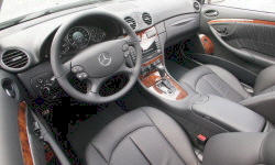 Coupe Models at TrueDelta: 2009 Mercedes-Benz CLK interior