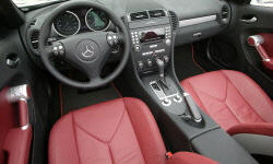 Convertible Models at TrueDelta: 2008 Mercedes-Benz SLK interior
