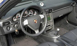 Convertible Models at TrueDelta: 2012 Porsche 911 interior