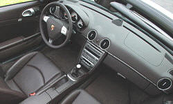 Convertible Models at TrueDelta: 2008 Porsche Boxster interior