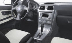 Wagon Models at TrueDelta: 2006 Saab 9-2X interior