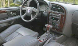 SUV Models at TrueDelta: 2009 Saab 9-7X interior